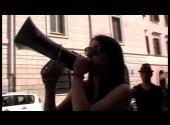 Netzanet al corteo di Roma con Communia