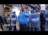 Renzi a Napoli: polizia insegue e disperde contestatori